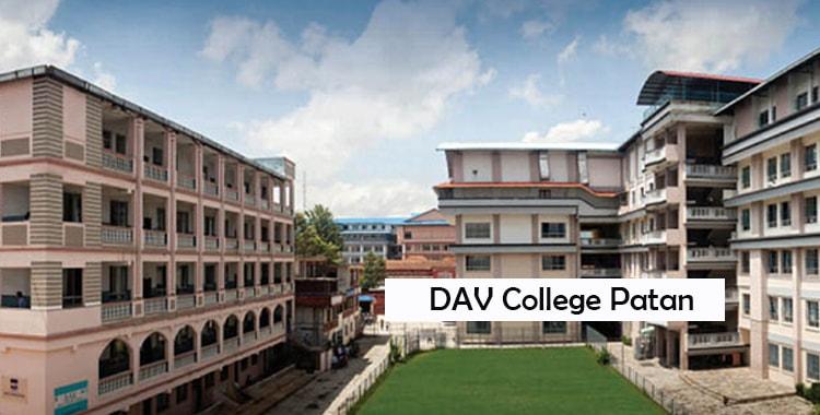 DAV College Patan