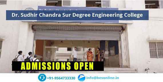 Dr. Sudhir Chandra Sur Degree Engineering College Admissions