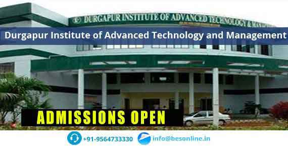 Durgapur Institute of Advanced Technology and Management Fees Structure
