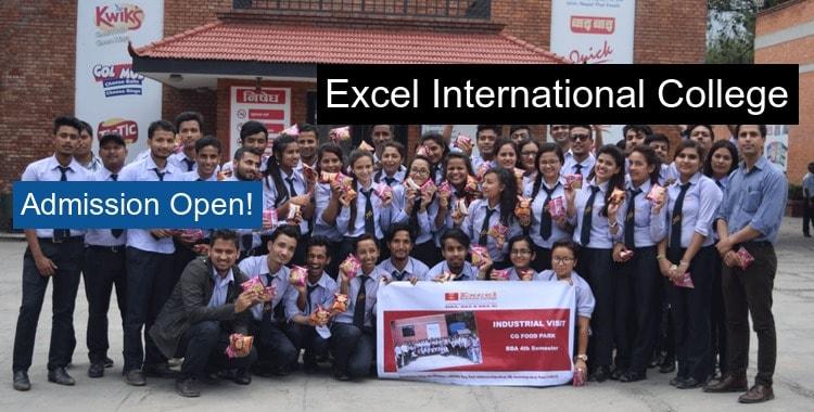 Excel International College Kathmandu Courses