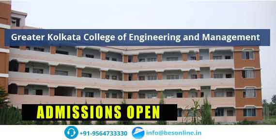 Greater Kolkata College of Engineering and Management Courses
