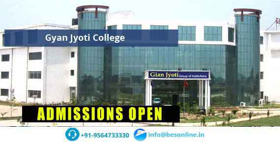 Gyan Jyoti College Admissions
