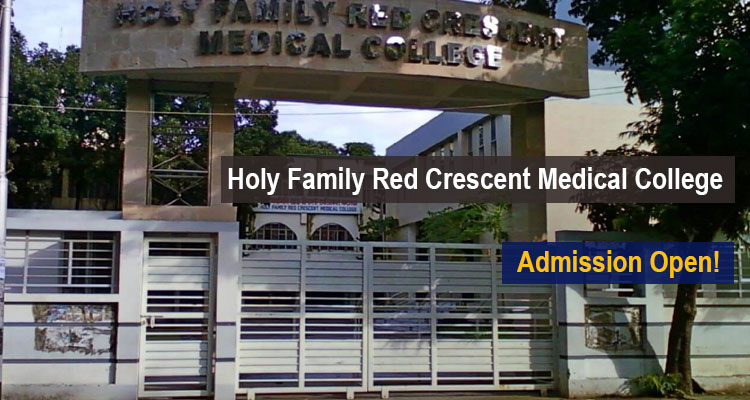 Holy Family Red Crescent Medical College Scholarship