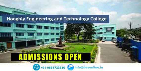 Hooghly Engineering and Technology College Courses