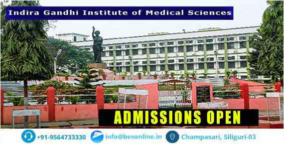 Indira Gandhi Institute of Medical Sciences Admission
