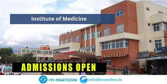 Institute of Medicine Nepal Admissions