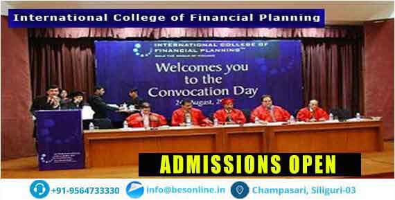 International College of Financial Planning Admissions