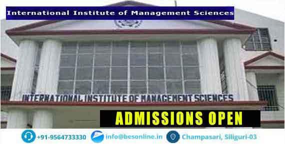 International Institute of Management Sciences Admissions