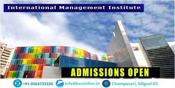 International Management Institute Courses
