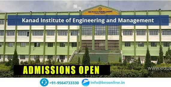 Kanad Institute of Engineering and Management Admissions