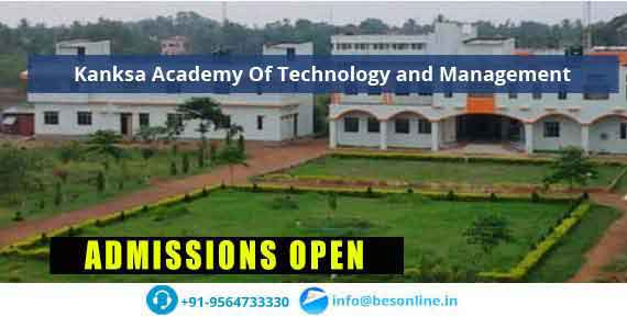 Kanksa Academy Of Technology and Management Courses
