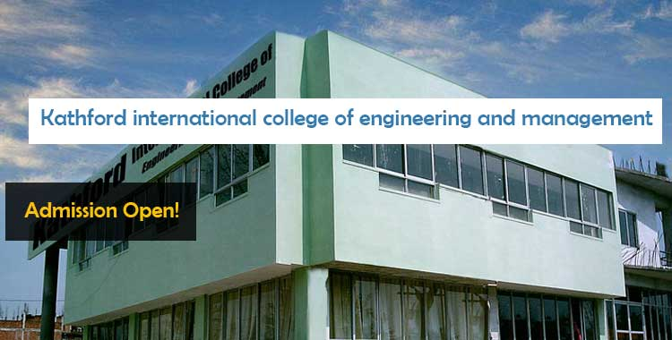 Kathford international college of engineering and management patan Scholarship