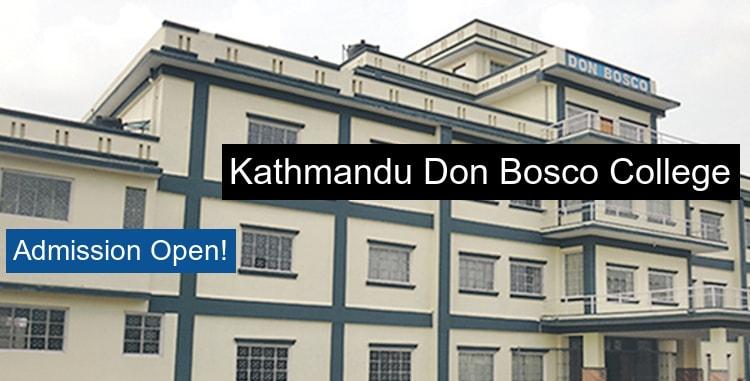 Kathmandu Don Bosco College Kathmandu Courses