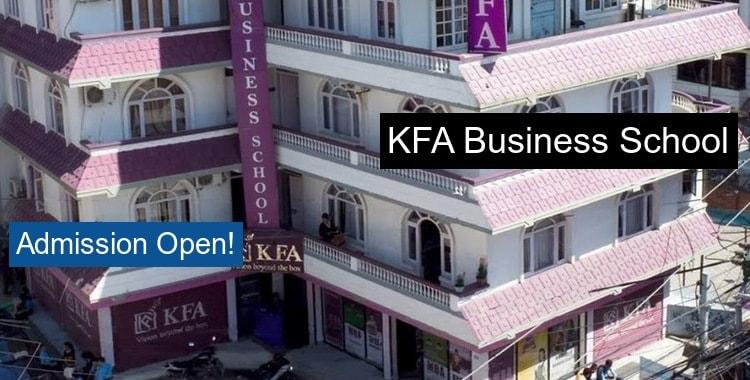 KFA Business School Kathmandu Fees Structure