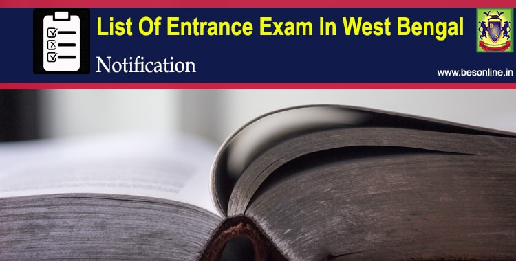 List Of Entrance Exam In West Bengal