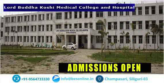 Lord Buddha Koshi Medical College Admission