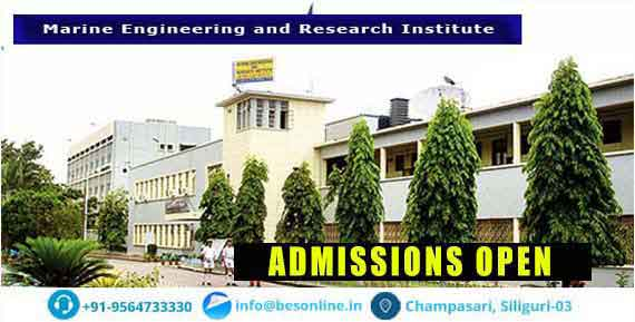 Marine Engineering and Research Institute Admissions
