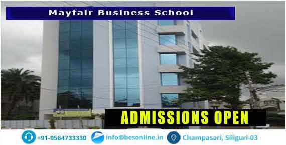 Mayfair Business School Admissions