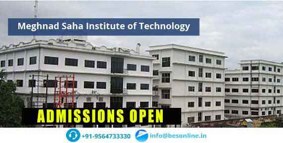 Meghnad Saha Institute of Technology Fees Structure