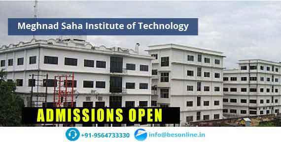 Meghnad Saha Institute of Technology Scholarship
