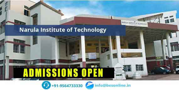 Narula Institute of Technology Admissions