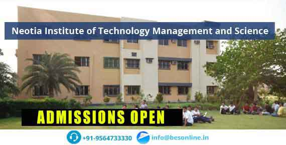 Neotia Institute of Technology Management and Science Admissions