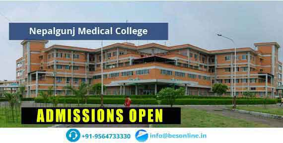 Nepalgunj Medical College Admissions