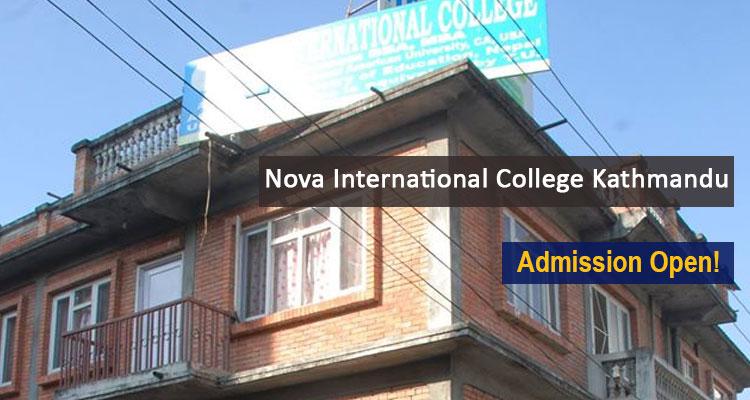 Nova International College Kathmandu Courses