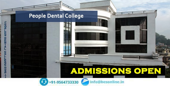 People Dental College Facilities
