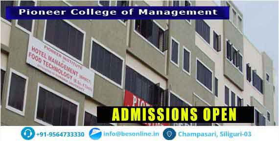 Pioneer College of Management Fees Structure