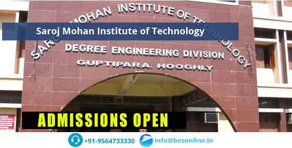 Saroj Mohan Institute of Technology Admissions