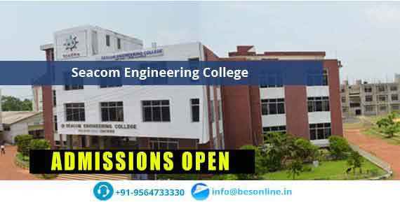 Seacom Engineering College Fees Structure