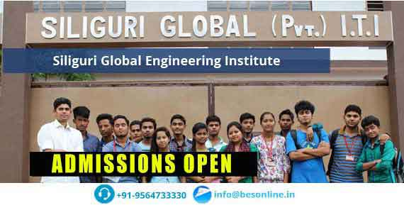 Siliguri Global Engineering Institute Admissions