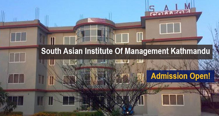South Asian Institute Of Management Admissions