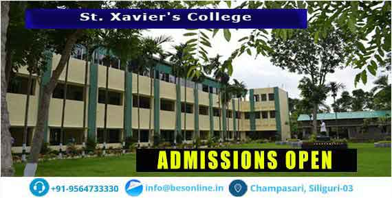 St. Xavier's College Fees Structure