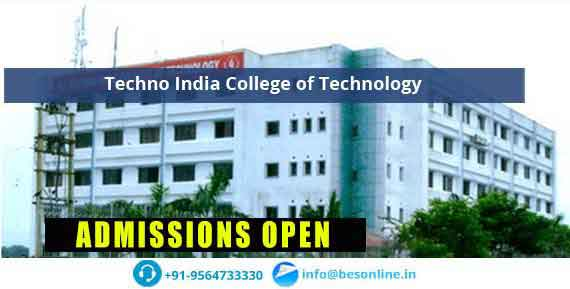 Techno India College of Technology Admissions