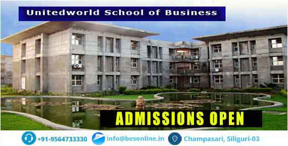 Unitedworld School of Business Admissions