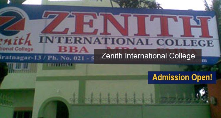 Zenith International College Entrance Exam