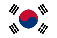 Korea (South) flag