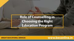 Role of Counselling in Choosing the Right Education Program