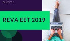 REVA University Engineering Entrance Test (REVA EET) 2019 Notification Out!