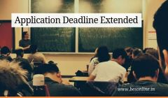 JNV class 6 admissions 2020 application deadline extended