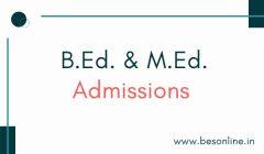 Mizoram University B.Ed. & M.Ed. Admission 2019 - Notification Released!