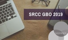 SRCC PGD in Global Business Operations Admission 2019 Notification Out!