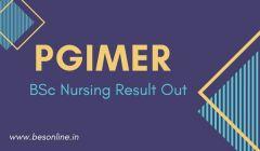 PGIMER BSc Nursing Result 2019 to be Declared; Check at pgimer.edu.in