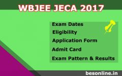 WBJEE JECA 2017 – Exam Dates, Eligibility Criteria, Application Form and Results