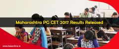 Maharashtra PG CET 2017 Results Released