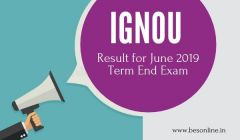 IGNOU Result for June 2019 Term End Exam declared, here's how to check