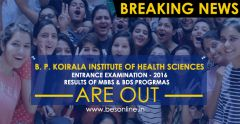 BPKIHS Entrance Examination 2016- Results of MBBS & BDS Programs Are Out!