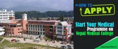 How to Apply and Start Your Medical Programme on Nepal Medical College?